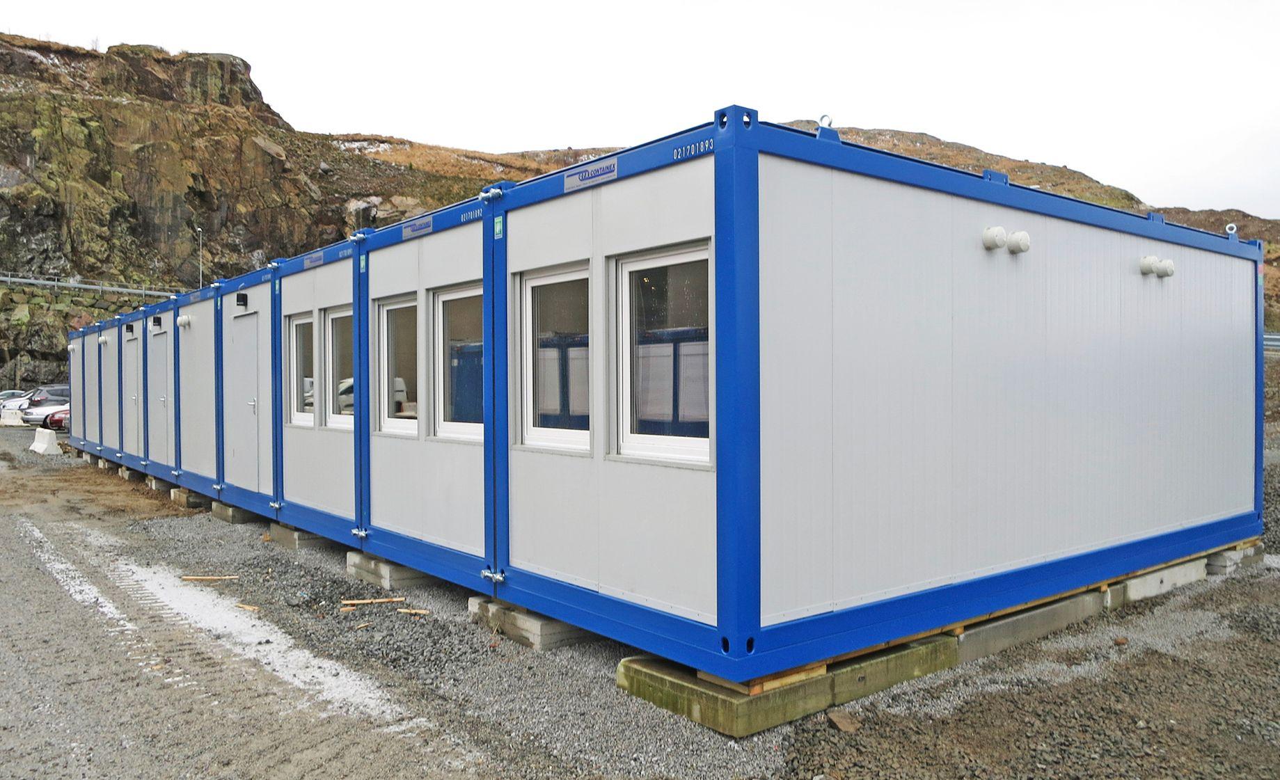 <p>32′ x 70′ High Spec Modular Office Complex – £POA</p>