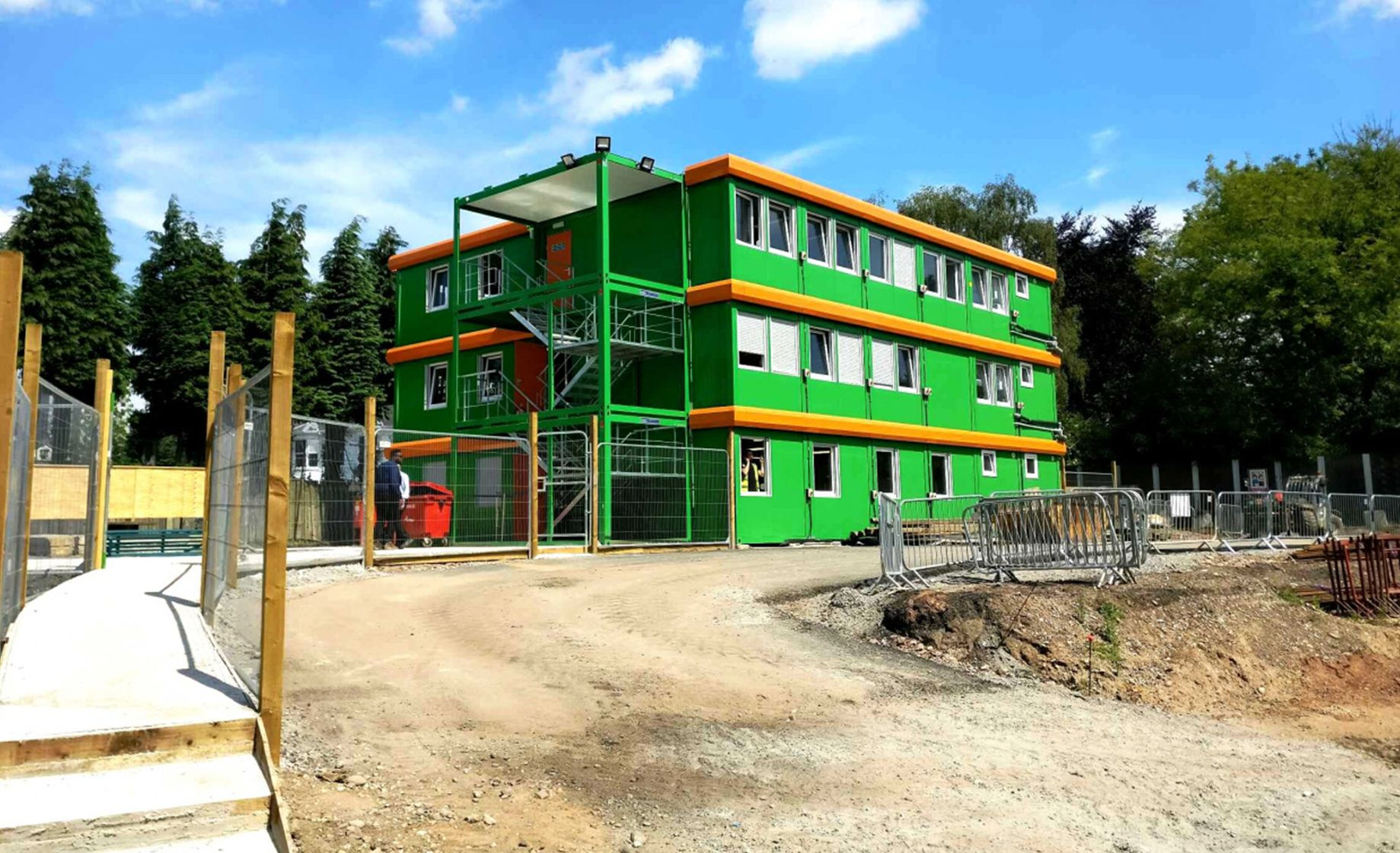 Construction site offices