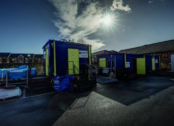 10 reasons why you would choose a portable toilet block over a portable single chemical toilet