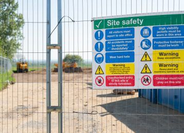 Site safety reminders: Safety Signs and Fire Safety